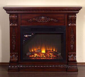 С живым пламенем 3d  электрический камин продам